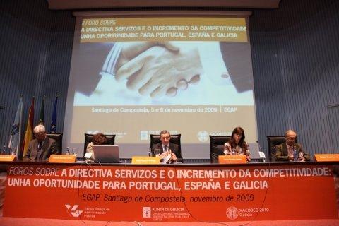 Imaxes segunda parte - Foros sobre a directiva servizos e o incremento da competitividade: Unha oportunidade para Portugal, España é  Galicia
